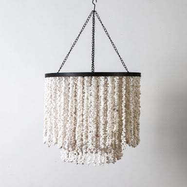 Terrace Shell Chandelier