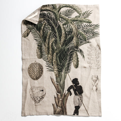 Linen Tea Towel - Ivory Coast
