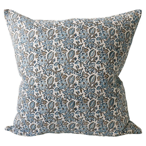 Krabi Toffee Linen Cushion