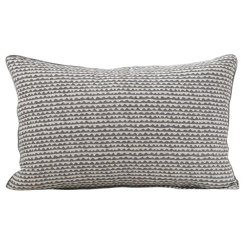 Mizu Linen Cushion - Mud