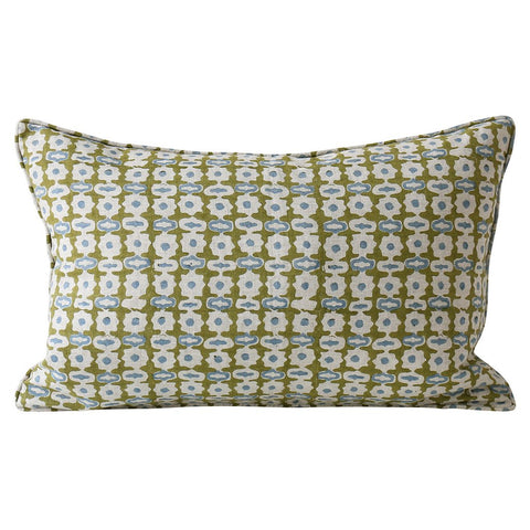 Pahari Moss Linen Cushion