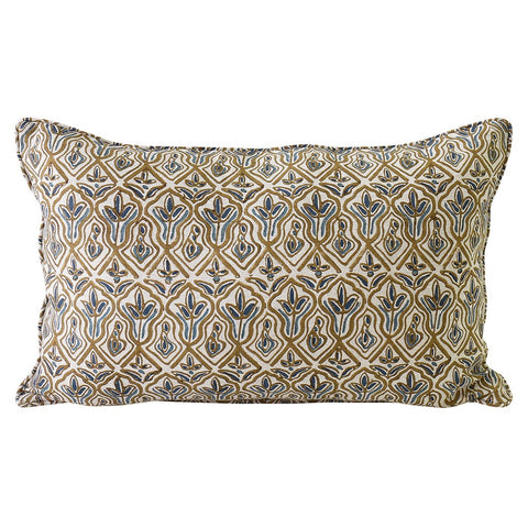 Praiano Tobacco Linen Cushion