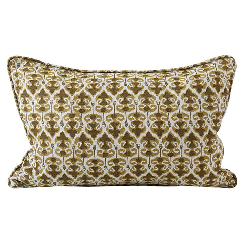 Zadar Linen Cushion - Saffron