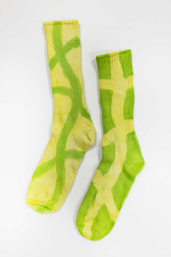 LIME POOL SOCKS