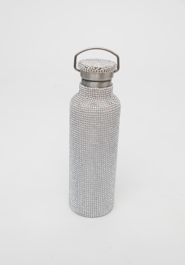rhinestone water bottle