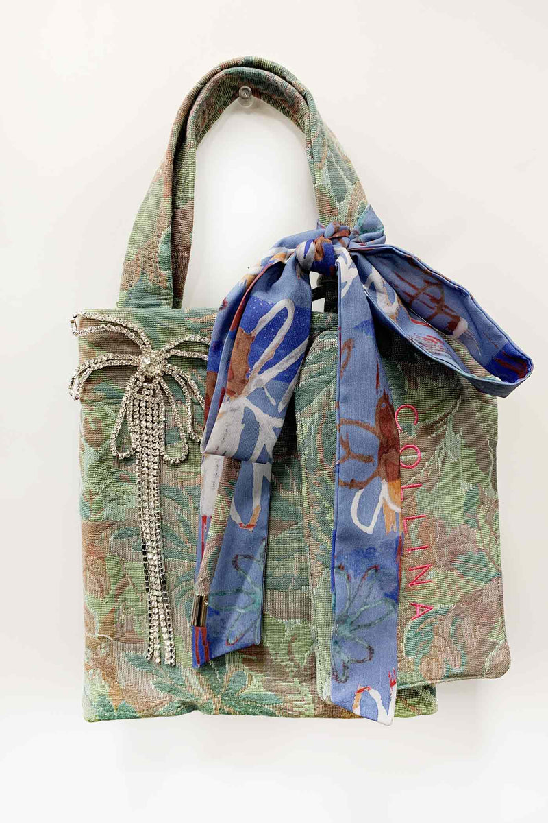 Forest Tapestry Mémé Bag