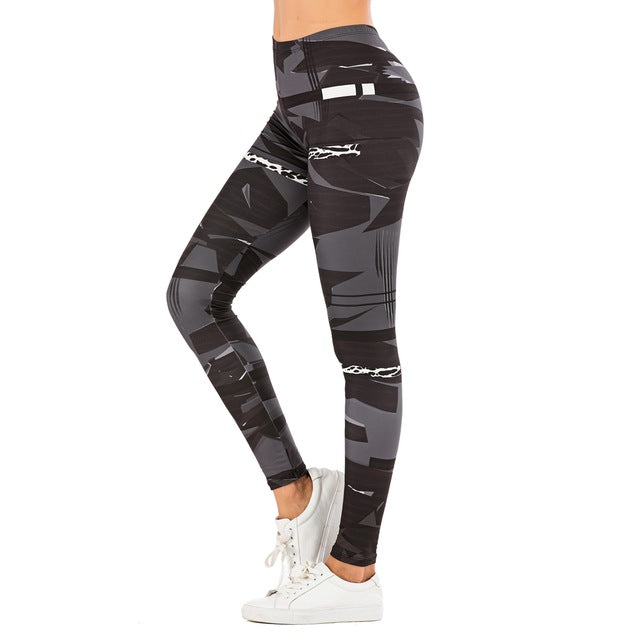 Leggings Fitness Camouflage - NaNìs Collection.com