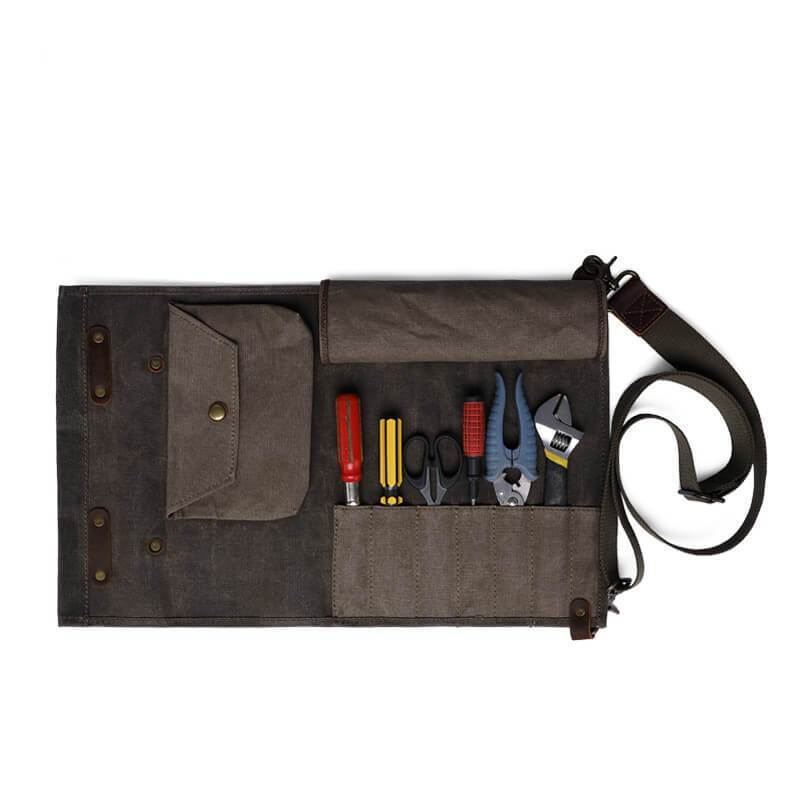 Retro Canvas Tool Bag