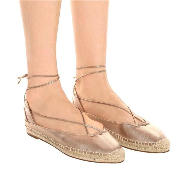 Women's Ankle Lace-up Casual Shoes