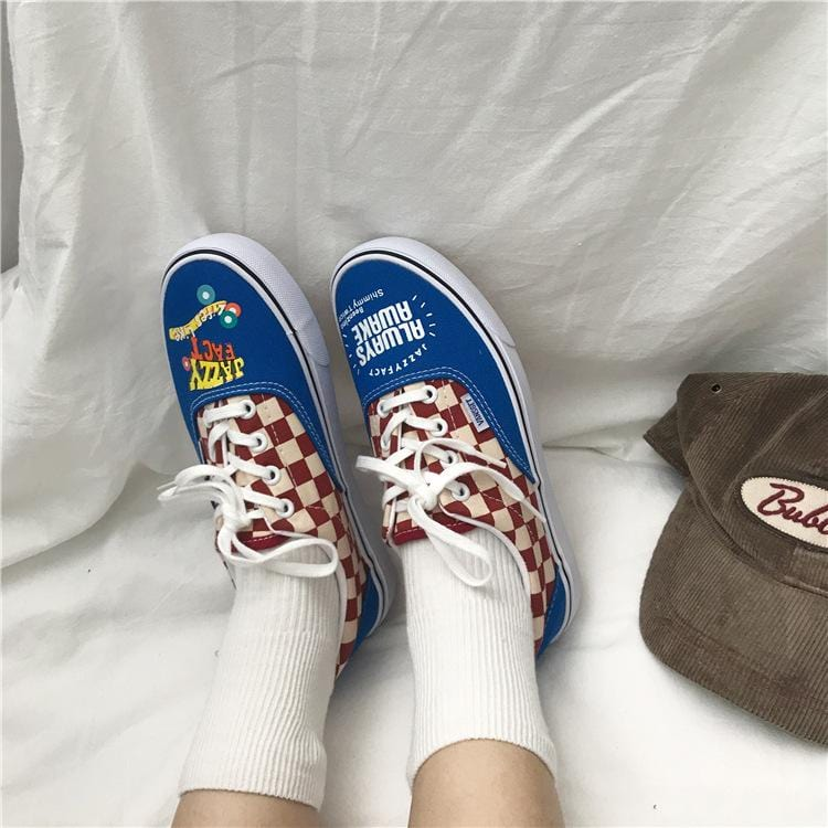 Unisex classic retro versatile canvas shoes