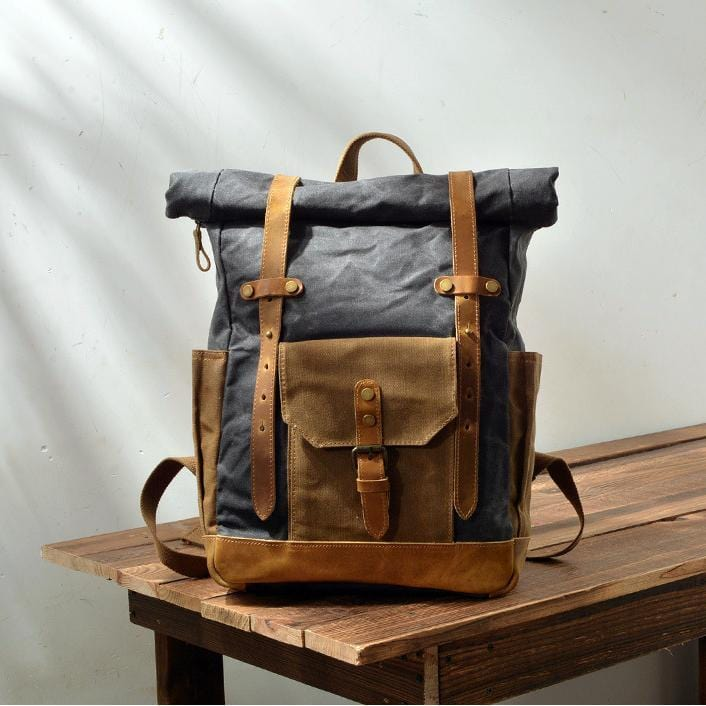 Retro Waterproof Backpack
