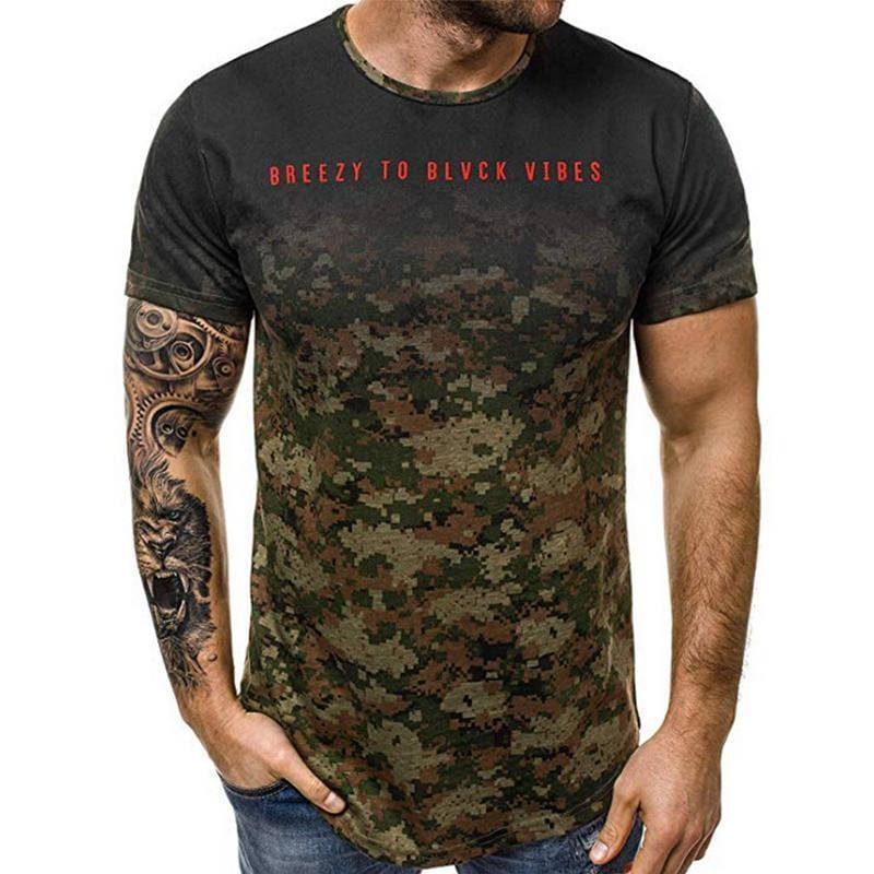 Short Camouflage Tee