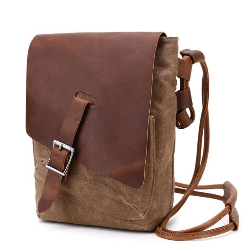 Men Canvas Crossbody Bag