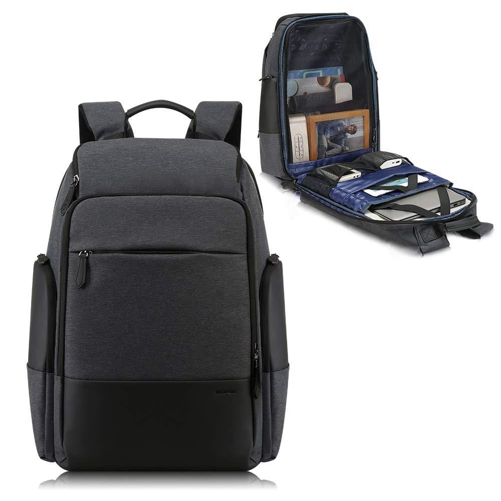 36L Unisex Travel Backpack for Men 15.6 inch Laptop Backpack with USB Charging Port Flight Approved Carry on Backpack