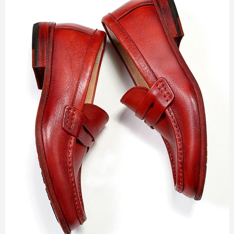Men's Retro British Style Handmade Loafers