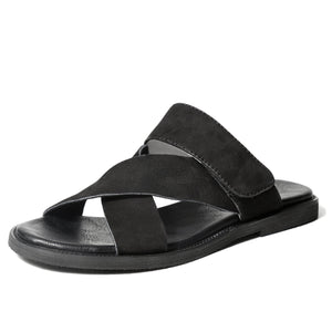 Men's Anti Slip Casual Leather Sandals