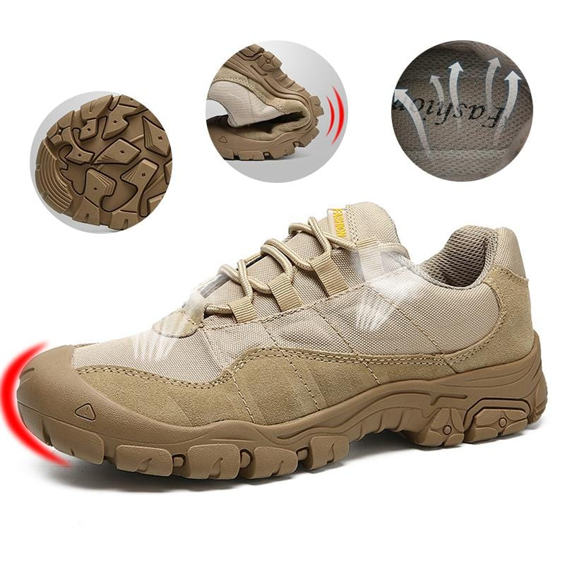 2019 New Anti-collision Anti-Smashing Anti-Slip Outdoor Safety Shoes