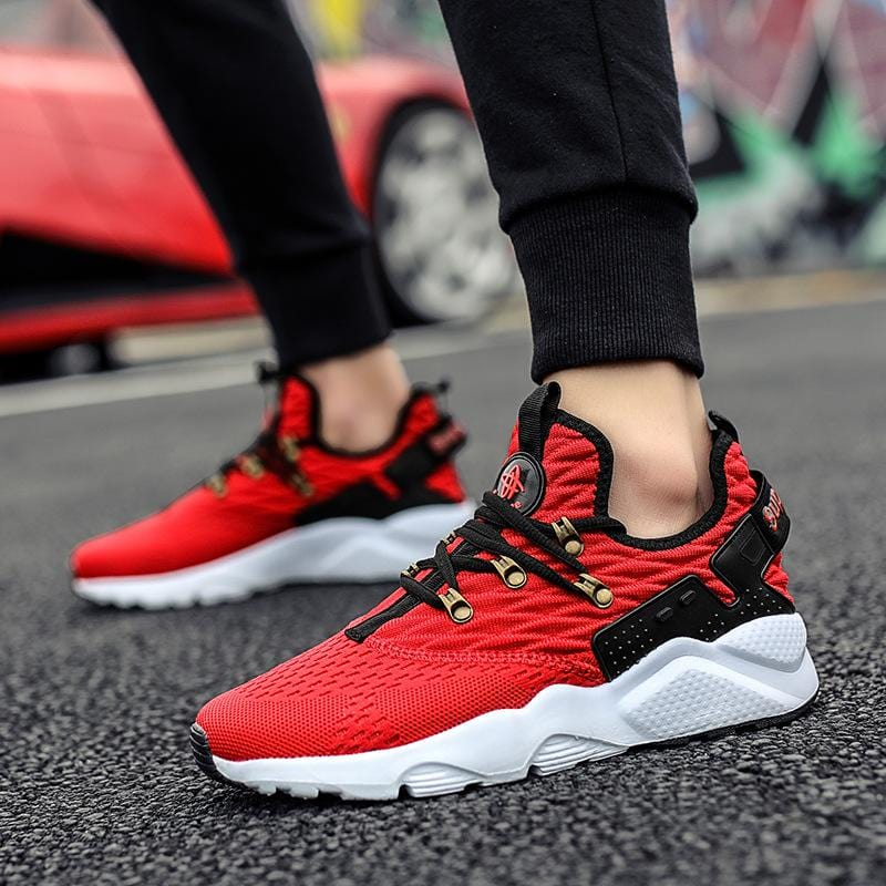 Men Casual woven sport shoes
