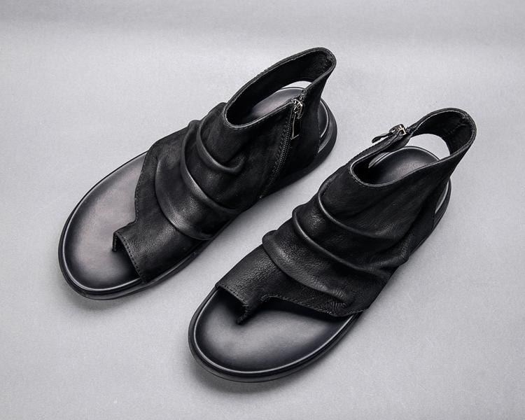 Men's Zipper Comfy Sandals