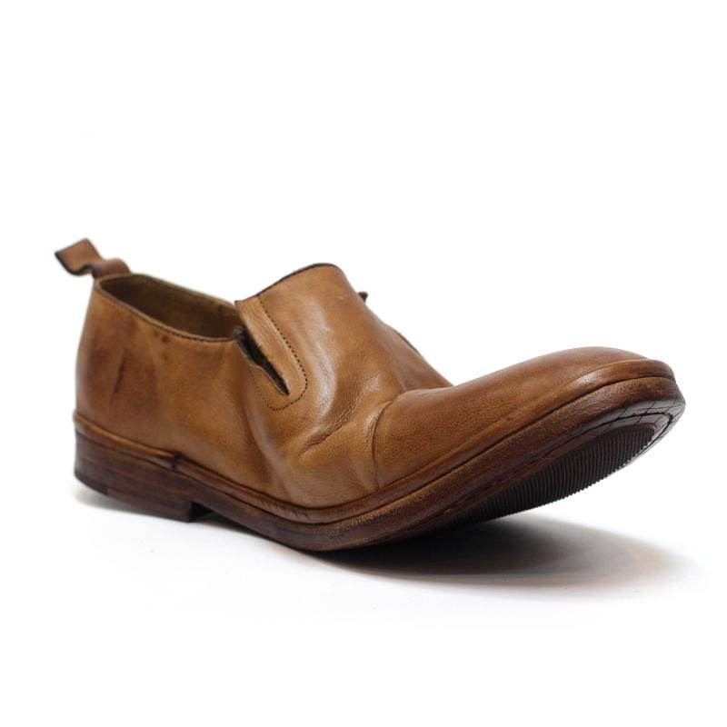 Men's Vintage Leather Slip-On Shoes