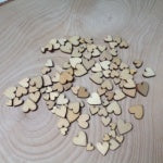 Wood Heat Confetti