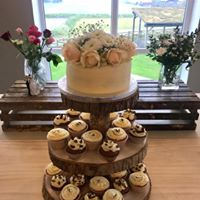 3 Tier Wood Cupcake Stand