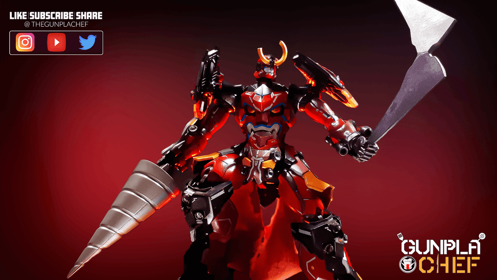 The Gunpla Chef – A Blast Of Flavor From The Past: The Gurren Lagann Model Kit Review