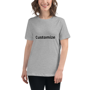 Customize your T-shirt