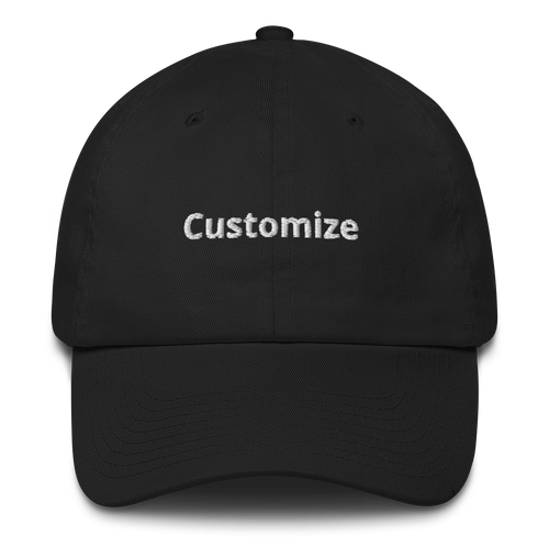 Customize your cap