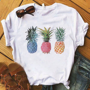 Pineapple fashion women