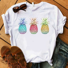 Load image into Gallery viewer, Pineapple fashion women