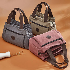 Woman Canvas Handbags Casual