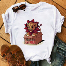 Load image into Gallery viewer, Lion King Women Tshirt