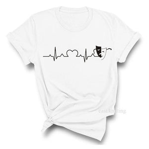 Minnie heartbeat t-shirt