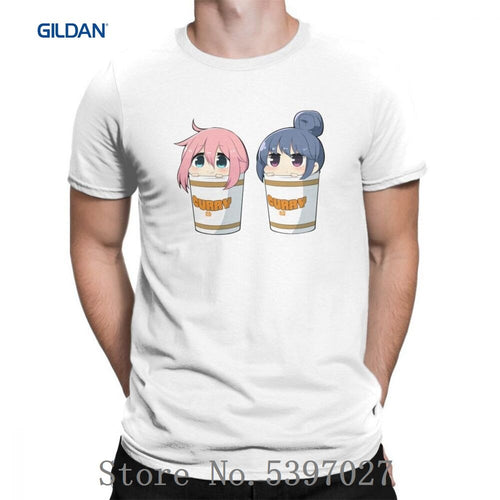 Rin To Nadeshiko Curry Yuru Camp Tees