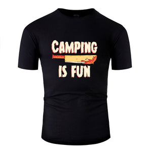 Camping is fun horror