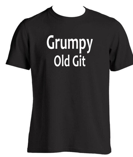 Grumpy Old Git Mens T Shirt