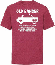 Load image into Gallery viewer, Old Banger Funny T-shirt