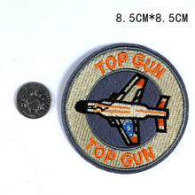 Load image into Gallery viewer, Fashion Embroidered Patches Air Badge Top Gun Space Rocket Astronauts For Boys Backpack Tshirt Clothing Handmade Sewing Applique