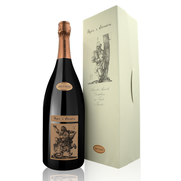 BRUT ROSE Cuvee [Pojer & Sandri] 150cl - Once Upon A Vine
