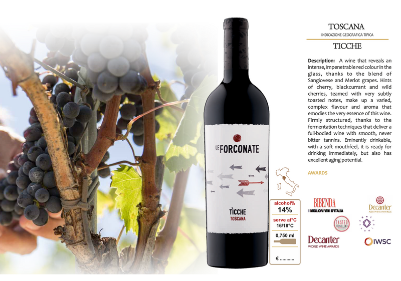 TICCHE 2017 [Barbanera] 75cl - Once Upon A Vine