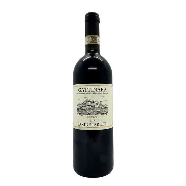 GATTINARA Riserva 2015 [Paride Iaretti] 75cl - Once Upon A Vine Singapore