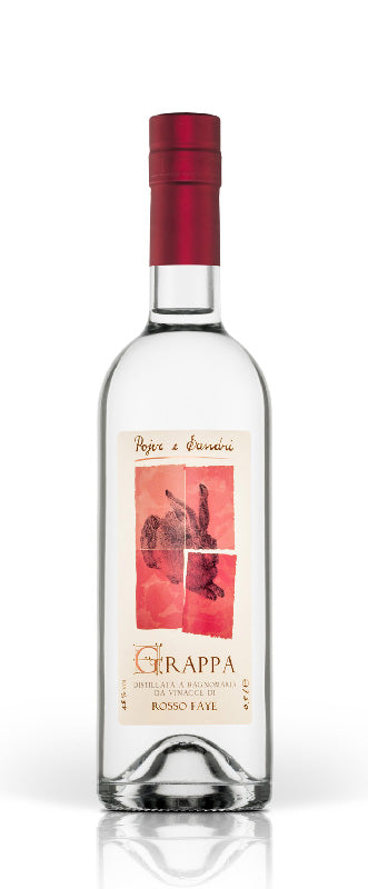 GRAPPA ROSSO FAYE [Pojer & Sandri] 50cl - Once Upon A Vine Singapore