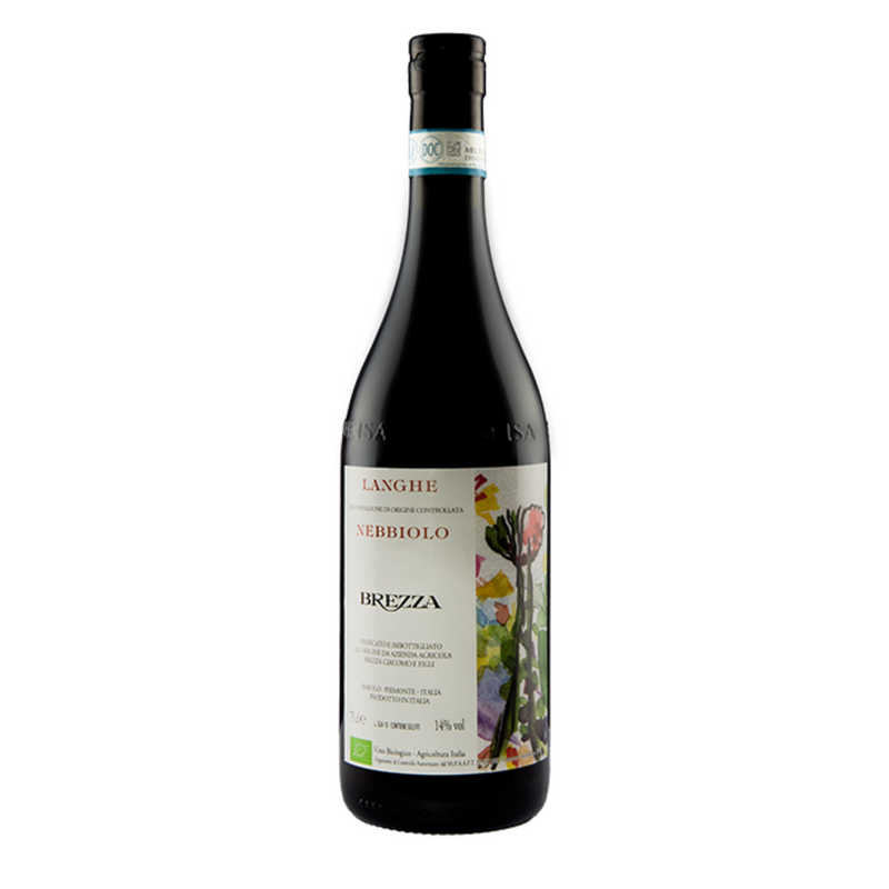 LANGHE NEBBIOLO 2019 [Brezza] 75cl - Once Upon A Vine Singapore