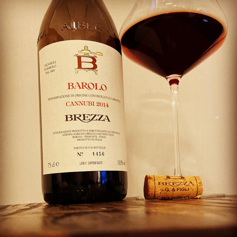 BAROLO Cannubi 2014 [Brezza] 75cl - Once Upon A Vine Singapore