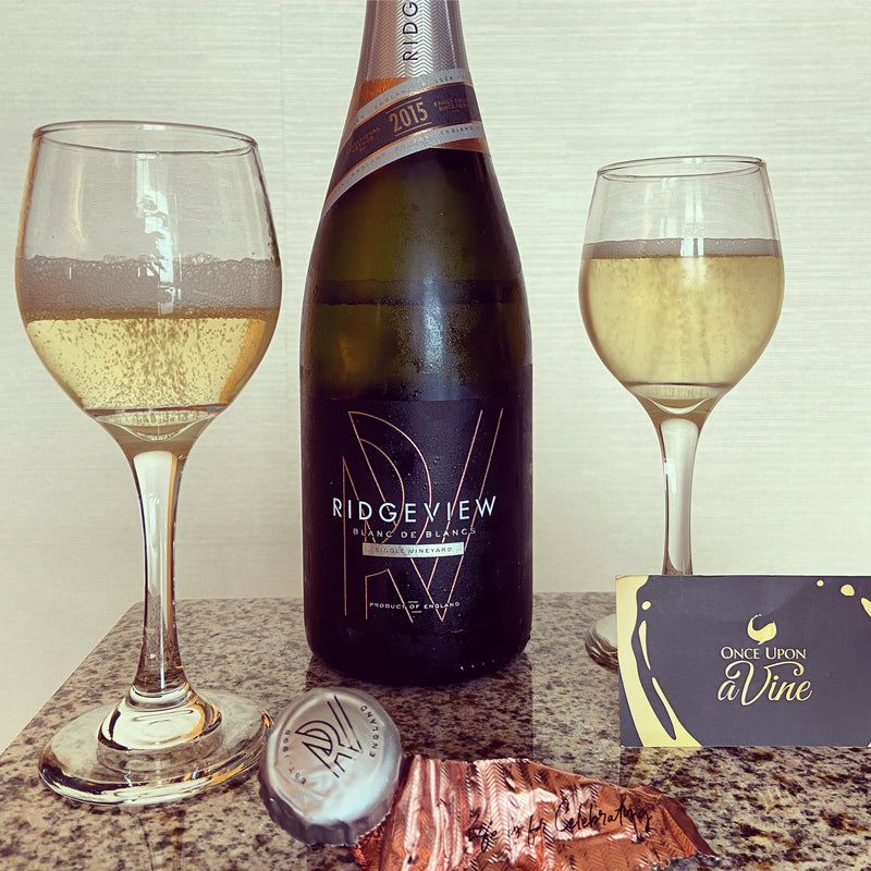 BLANC DE BLANCS 2015 [Ridgeview] 75cl - Once Upon A Vine