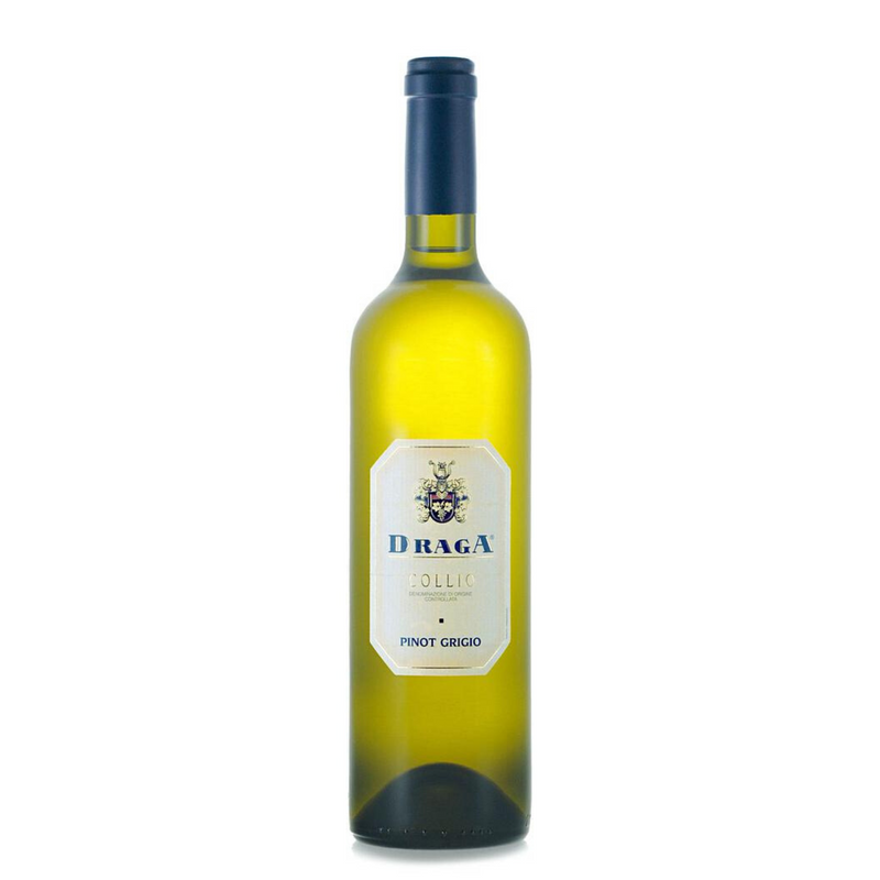 PINOT GRIGIO 2018 [Draga] 75cl - Once Upon A Vine