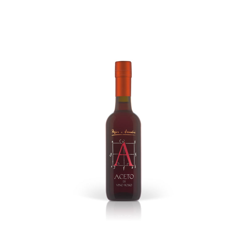 RED WINE VINEGAR [Pojer & Sandri] 37.5cl - Once Upon A Vine Singapore
