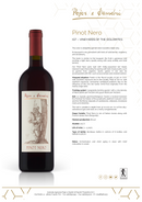 PINOT NERO 2018 [Pojer & Sandri] 75cl - Once Upon A Vine Singapore