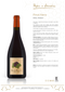 PINOT NERO Rodel Pianezzi 2016 [Pojer & Sandri] 150cl - Once Upon A Vine Singapore